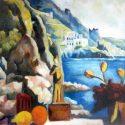 """Ausstellung """"Nerano, Capri und die Amalfiküste"""" – Malerei, Zeichnungen, Hinterglasbilder & Bronzeskulpturen von Hubert Lang"""