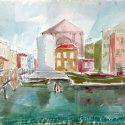 """Ausstellung """"Venedig"""" – Malerei, Grafik und Fotografie von Hubert Lang"""